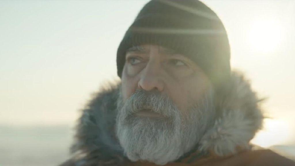 George Clooney Terjebak Badai di Antartika dalam The Midnight Sky