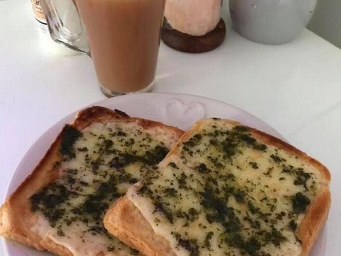 Toast Kayak Muntah Anjing