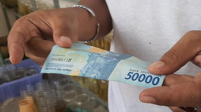 Uang palsu di Palembang (Raja Adil-detikcom)