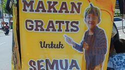 Viral Warga Surabaya Berbagi Makanan Gratis Setiap Hari