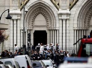 Pelaku Penyerangan Gereja di Prancis Adalah Imigran Tunisia