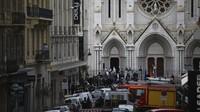 Prancis Naikkan Level Siaga ke Darurat Usai Penusukan di Nice