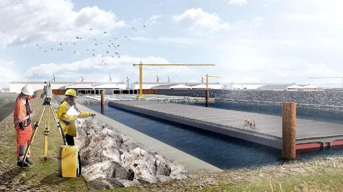 Jerman dan Denmark tengah bangun terowongan bawah laut terpanjang di dunia. Proyek ini ada di bawah Laut Baltik. Penasaran? Yuk, lihat.