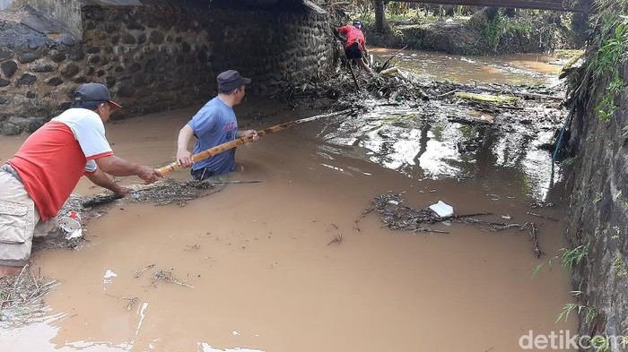 Dampak banjir dan longsor di Banyumas, Kamis (29/10/2020).