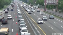 Sabtu Siang, Sudah 10.029 Mobil ke Jakarta Lewat GT Cikampek