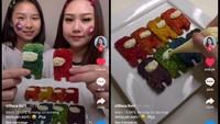 Kreatif! Netizen Ini Bikin Tempe Among Us Warna-warni