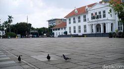 Curhat Pilu Seniman Karakter Kota Tua Jakarta yang Kini Sepi Job
