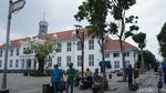 Libur Hari Kedua, Kota Tua jadi Pilihan Liburan Warga Jakarta