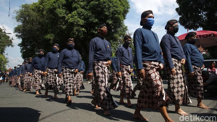 Menengok Grebeg Maulud Yogyakarta dengan Protokol Kesehatan