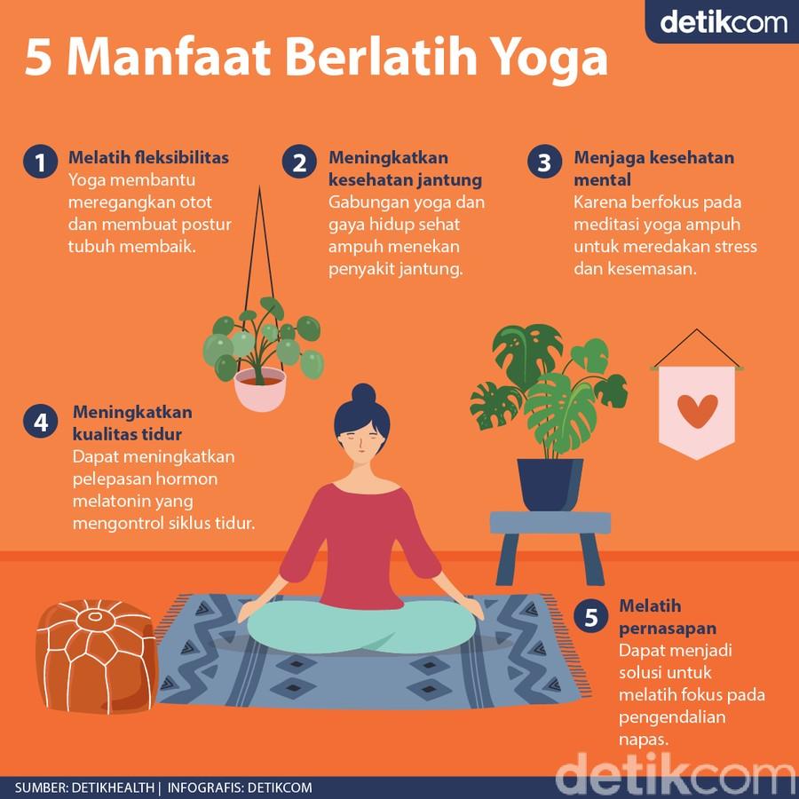 Mengisi Liburan dengan Latihan Yoga, Ini 5 Manfaatnya