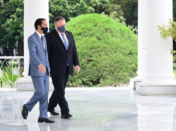 Menlu AS Mike Pompeo bertemu Presiden Jokowi