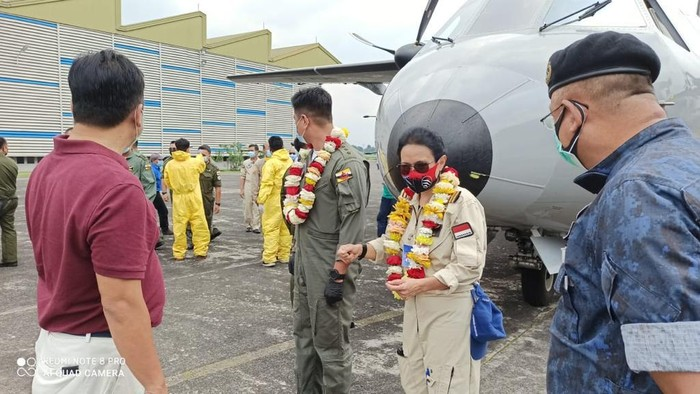 Pesawat Milik AU Brunei Jadi Pasien di PTDI