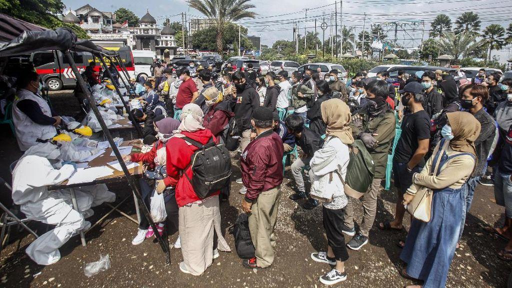 Niat Liburan, 50 Wisatawan Reaktif Corona Usai Tes Rapid di Puncak Bogor
