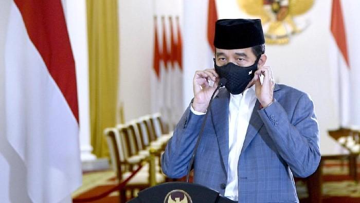 Presiden Jokowi dalam peringatan Maulid Nabi