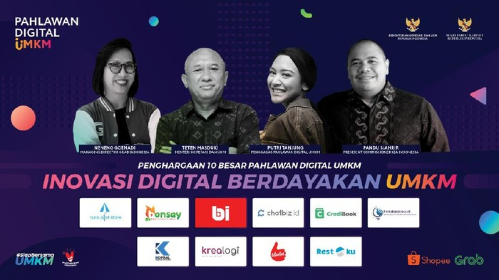 Program Pahlawan Digital UMKM 2020.