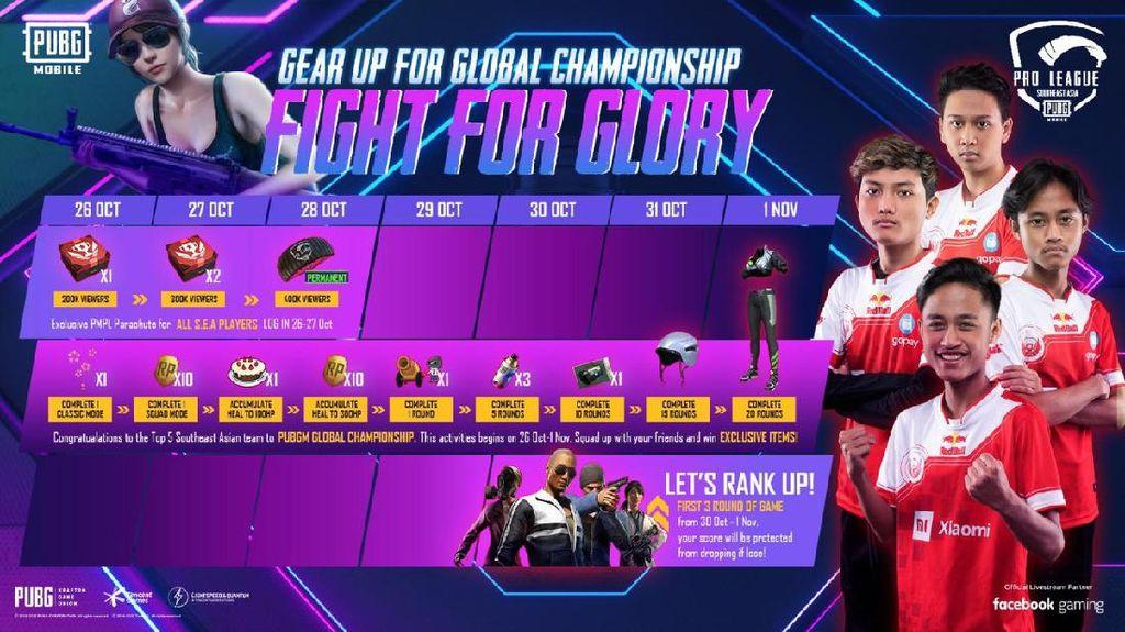 Bigetron Red Aliens Juara, PUBG Mobile Bagi-bagi Hadiah