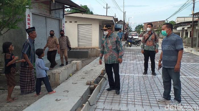 Sidak Jalan Berlubang, Pj Bupati Sidoarjo Instruksikan Tambal Sementara
