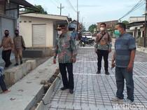 Sidak Jalan Berlubang, Pj Bupati Sidoarjo Instruksikan Ditambal Sementara