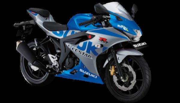 Suzuki GSX-R150 kini punya varian spesial. Sekujur body-nya dilabur warna ala tunggangan Alex Rins-Joan Mir saat berlaga di MotoGP 2020.