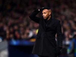 Teriakan Thierry Henry