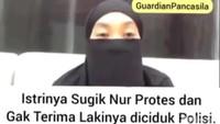 Viral Video Istri Gus Nur Pertanyakan Keadilan Suaminya di Kasus Ujaran Kebencian