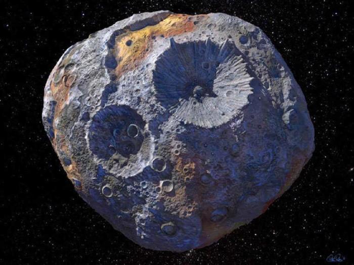 Asteroid 16 Psyche yang langka diduga bernilai USD 10.000 kuadrilion