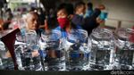 Warna-warni Bazar Ikan Cupang di Pasar Gembrong Baru