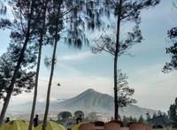 Juga tenda seharga Rp 300 ribu dan rumah bambu Rp 800 ribu per malam. (Dok Camping Ground Pinus Cuntel)