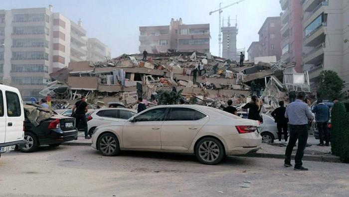 Gempa M 7,0 di Yunani dan Turki