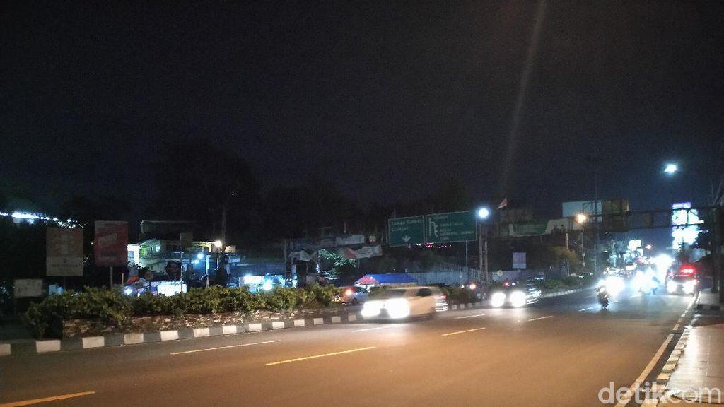 Lalin Puncak Bogor Jumat Malam: Simpang Gadog-Megamendung Ramai Lancar