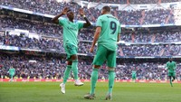 Zidane Pastikan Benzema dan Vinicius Sudah Baikan