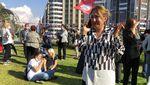 Momen Warga Turki Berhamburan Menyelamatkan Diri dari Gempa