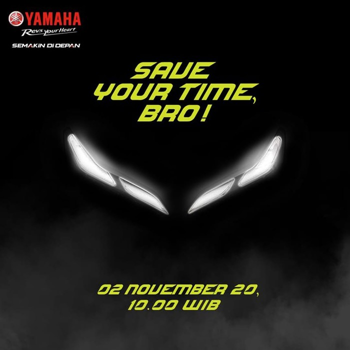 Motor baru Yamaha meluncur 2 November 2020