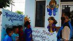Mural Edukasi Bahaya COVID-19 dan DBD di Cimahi