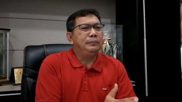 Pelaksana Tugas Kepala Lapas Kelas IIA Pekanbaru, Alfonsus Wisnu Hardianto.