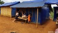 Korban Banjir Bandang-Longsor di Lebak Ngeluh Setahun Tinggal di Tenda