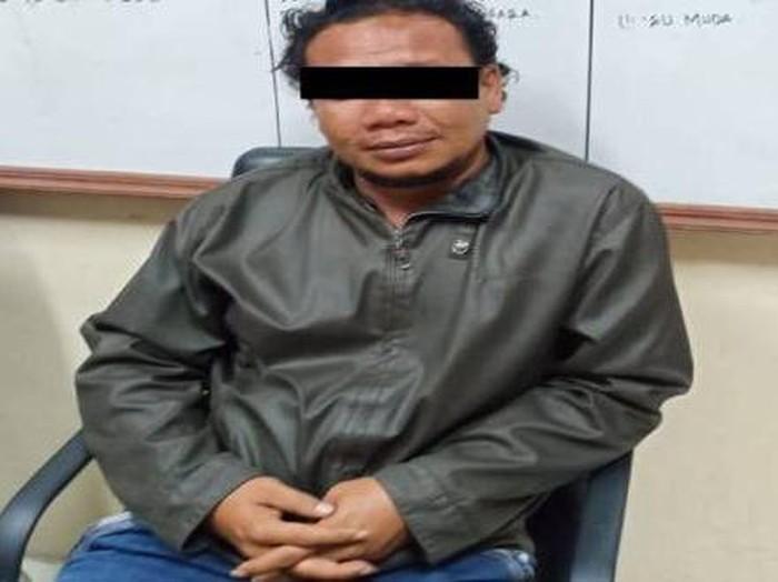 Penampakan MA, penusuk Ustaz Zaid Maulana saat mengisi ceramah Maulid Nabi di Aceh.