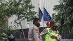 Polisi Jaga Ketat Kedubes Prancis di Thamrin