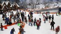 Trans Snow World Bekasi menjadi primadona destinasi liburan anti mainstream.