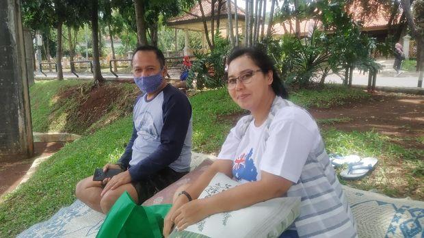Suami-Istri Ini Sengaja Tak Ajak Anak untuk Libur Cuti Bersama di TMII