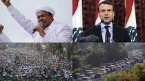 Top 5 Foto Pekan Ini: Heboh Kepulangan Rizieq-Muslim Dunia Kecam Prancis