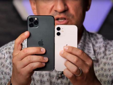 IPhone 12 mini terungkap melalui video praktis