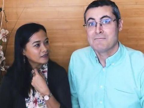 TKW Blitar menikah dengan bule Barcelona