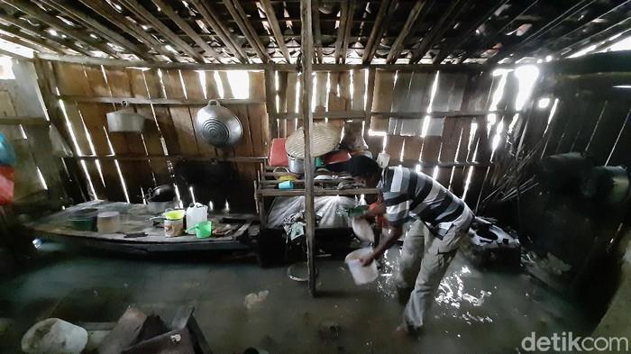 banjir di cilacap mulai surut, 31/10/2020