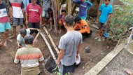 Sapi yang Terjebak Septic Tank Selama 5 Jam di Ponorogo Akhirnya Mati