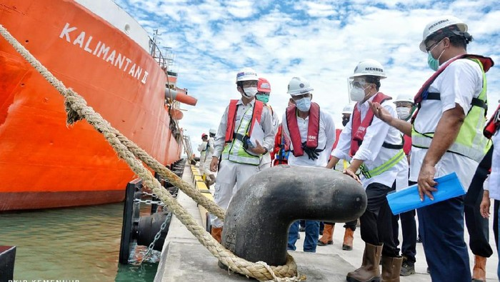 Menteri Perhubungan Budi Karya Sumadi Tinjau Pelabuhan Patimban