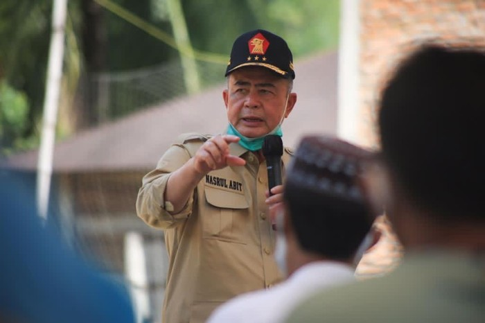 Calon Gubernur Sumbar Nasrul Abit
