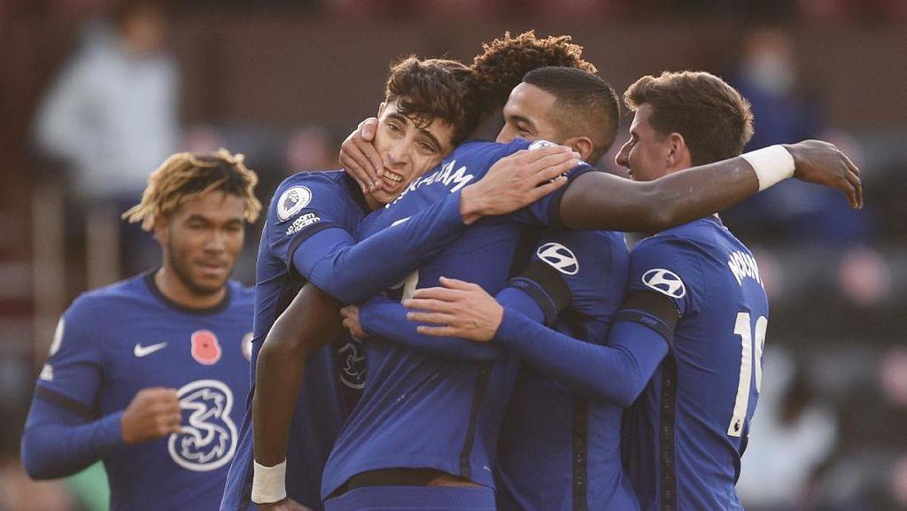 Burnley Vs Chelsea: Ziyech Gemilang, The Blues Menang 3-0