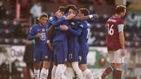 Babak I: Ziyech Bawa Chelsea Ungguli Burnley 1-0