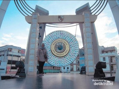 Ini Gong Perdamaian Dunia di Ambon, Simbol Indahnya Toleransi